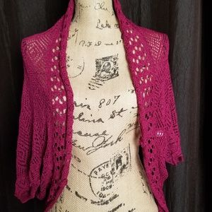 Sweaters - Crochet cover up